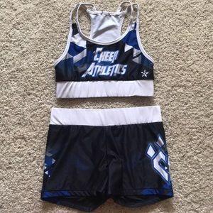 Cheer Athletics kaleidoscope practice wear